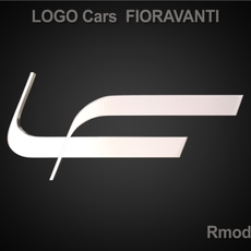 Fioravanti 3d Logo 3D Model
