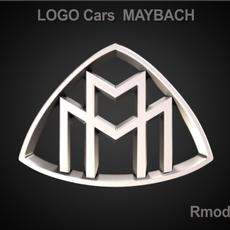 Maybach 3d Logo 3D Model