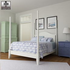Bedroom 15 Set 3D Model