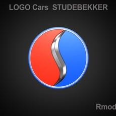 Studebaker 3d Logo 3D Model