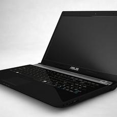 Laptop Asus 3D Model