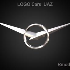 UAZ 3d Logo 3D Model