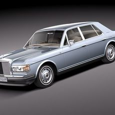Rolls Royce silver spirit-spur 1980-1998 3D Model