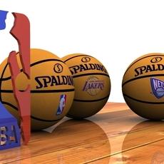 Photorealistic Basketball 3D Model