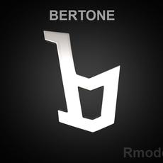 Bertone 3d Logo 3D Model