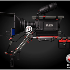 Red Camera 3D Model