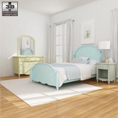 Bedroom Furniture 19 Set 3D Model