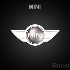 Mini 3d Logo 3D Model