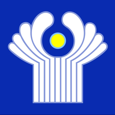 Commonwealth of Independent States texture Flag