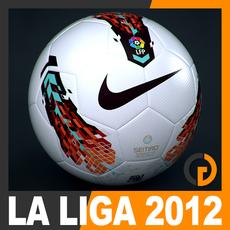 2011 2012 Spanish La Liga Match Ball 3D Model
