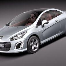 Peugeot 308 CC 2012 3D Model