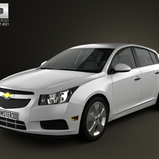 Chevrolet Cruze hatchback 2012 3D Model