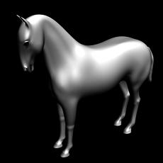 Horse_3D 3D Model