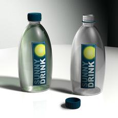 Fresh Drink bottle 3D Model