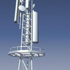 radio mast 3D Model