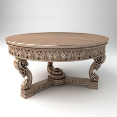 A Coffee table 3D Model