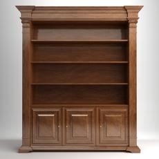 Display Case Cabinet 3D Model