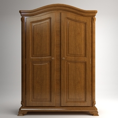Wardrobe Cabinet Armoire 3D Model