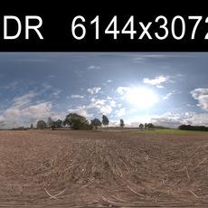 Road in field 4 HDRI Environment