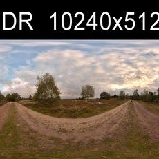 Field Path HDRI Environment (High Resolution)