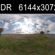 Road in field 3 HDRI Environment