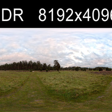 Field Path Cloudy 3 HDRI Environment (high res)