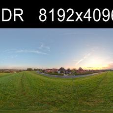 Sky Dawn 1 HDRI Environment (high res)