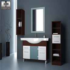 Bathroom 06 Set 3D Model