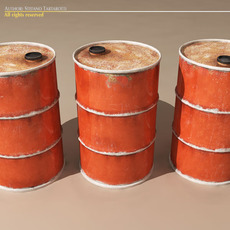 Old drum 3D Model