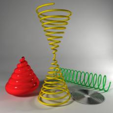 CV Spiral & Helix Creation Tool for Maya 1.5.0 (maya script)