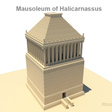 Mausoleum of Halicarnassus  3D Model