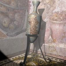 Roman Style Amphora 3D Model