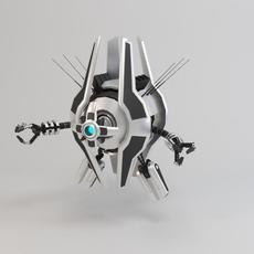 Robot TRS250 3D Model