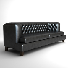Hall Rodolfo Dordoni Sofa 2 3D Model