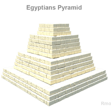 Egyptians pyramid 3D Model