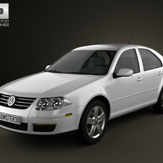 Volkswagen Jetta City 3D Model