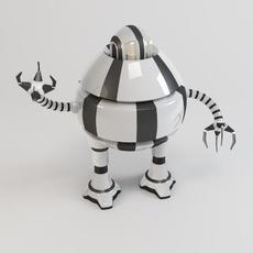 Robot d3b9 3D Model