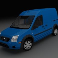 Ford Transit Connect XLT Cargo 3D Model