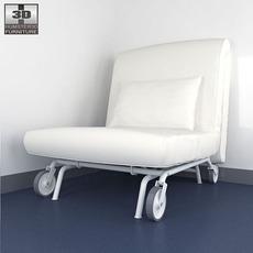 IKEA PS LOVAS Chair-bed 3D Model