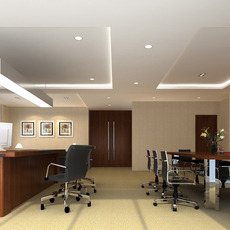 Office space 042 3D Model