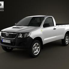 Toyota Hilux RegularCab 2012 3D Model