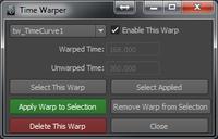 Time Warper for Maya 1.0.1 (maya script)
