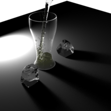 Perfect Glass material for Maya 1.0.1