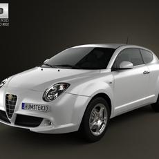 Alfa-Romeo MiTo 2009 3D Model