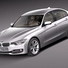 BMW 3 f30 2013 sedan 3D Model