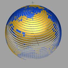 Array based on surface for Maya 1.0.2 (maya script)