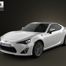 Toyota GT 86 2013 3D Model