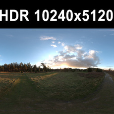 Meadow 5 Afternoon HDR Panorama