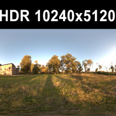 Ruin 1 Afternoon HDR Panorama