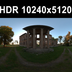 Ruin 3 Afternoon HDR Panorama